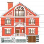 Архитектурные фасады