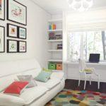 Дизайн маленькой детской комнаты, фото