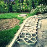 Как сделать садовую дорожку