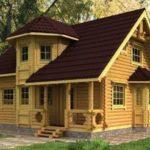 Картинки деревянных домов