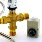 Клапаны отопления с терморегулятором