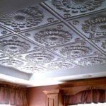 Клеевой потолок своими руками