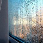 Конденсат на пластиковых окнах, пвх