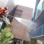 Мытье фасадов
