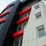 Отделка фасадов многоэтажных зданий