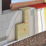 Поэтапное утепление фасада минеральной ватой