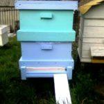 Пчеловодам на заметку: улей для пчел своими руками