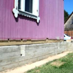 Ремонт фундамента деревянного дачного дома своими руками