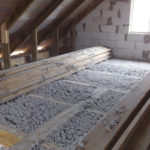 Теплоизоляция крыши бани
