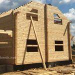 Технология клееного бруса, укладка, строительство домов