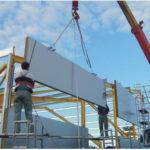 Технология строительства и монтажа сэндвич панели