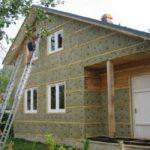 Утепление стен дома из бруса снаружи и изнутри