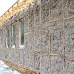 Утепление стен дома эковатой своими руками: способы, видео