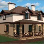 Фасады загородных домов в картинках