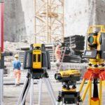 Контрольно измерительные инструменты в геодезии