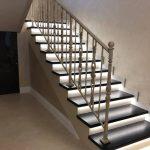 Лестницы из акрилового камня на заказ