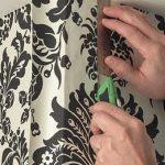 Как наклеить и покрасить флизелиновые обои