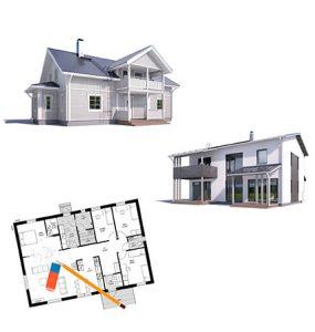 этапы разработки проекта дома