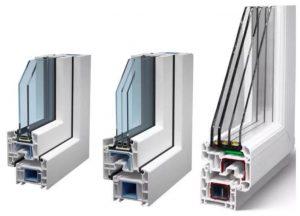 металлопластиковые окна воздушные камеры