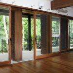 Двери патио, варианты оформления