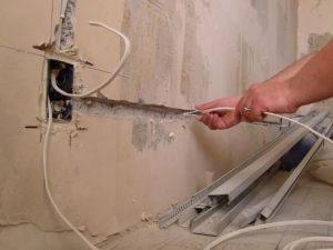 проложить проводку в квартире