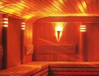светодиодное освещение бани